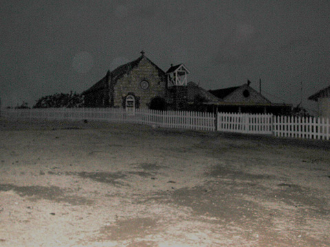 Mayreau Church at night