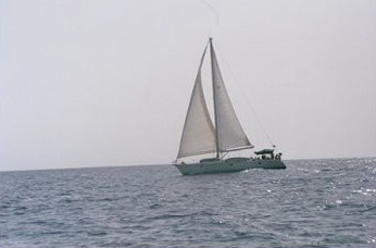 Sailing to Mayreau