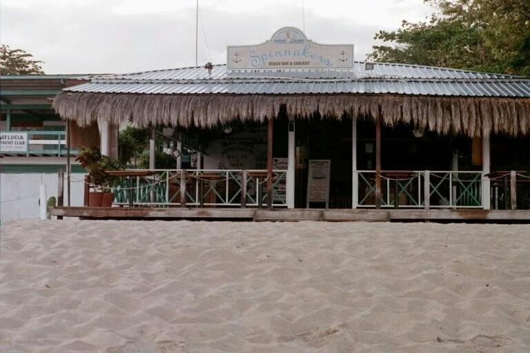Spinnaker's Bar Rodney Bay