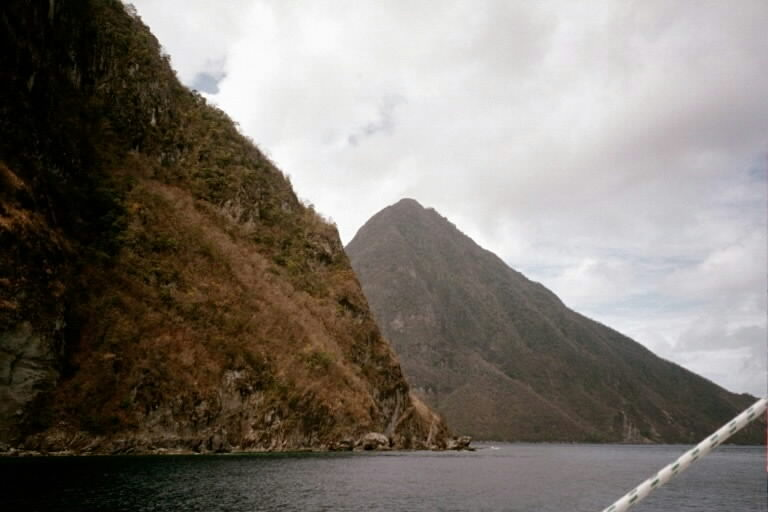 Malgretout anchorage The Pitons