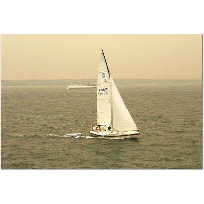 Sailboat in Vineyard Sound