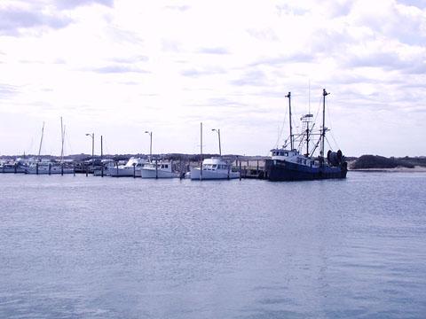 The Unicorn, Menemsha fishing boat
