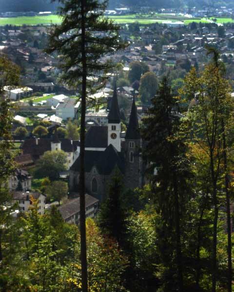 Interlaken steeples