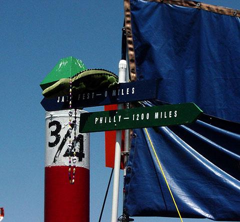 New Orleans Jazzfest Flag
