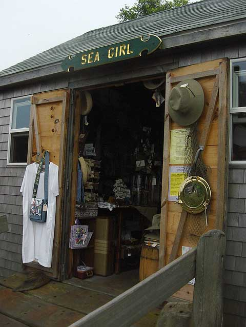 Sea Girl Cuttyhunk Island