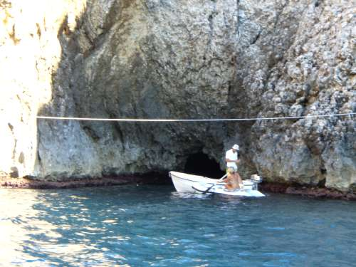 Outside of the Blue Grotto – Bisevo, Croatia