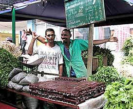 Cuban Market Vendors