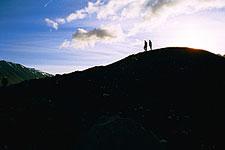 Hiking near the Alsek