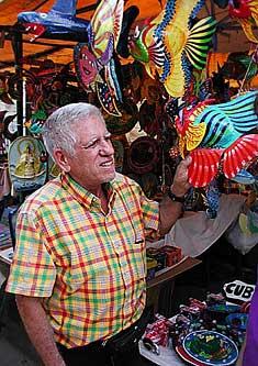 Tourist Store Cuatro Caminos market in Old Havana
