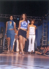 Cat walk at the Fashion Show
