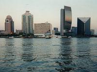 Dubai's financial district