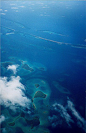 Bird's-eye view of the Solomon Islands