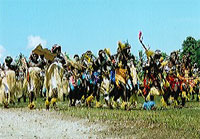 Traditional islanders' dance