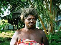 Solomon Islander from Baraulu