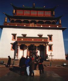 Temple in Ulan Bator