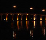 Vero Beach Bridge at night