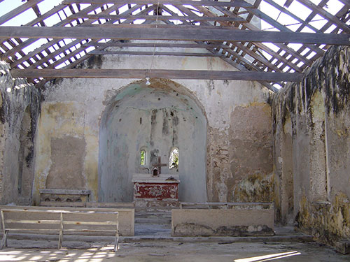 Remains of St. Mary's