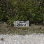 Columbus Point Sign