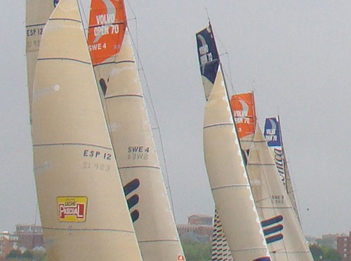 Leg 7 Start of the Volvo Ocean Race